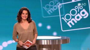 Faustine Bollaert dans 100 Mag - 05/03/14 - 02