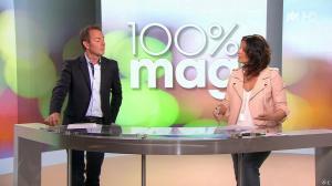 Faustine Bollaert dans 100 Mag - 07/04/14 - 02