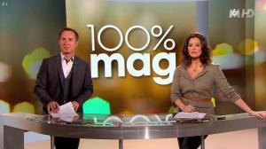 Faustine Bollaert dans 100 Mag - 08/04/14 - 01