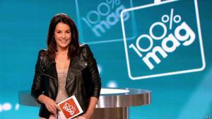Faustine Bollaert dans 100 Mag - 13/03/14 - 01