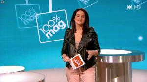 Faustine Bollaert dans 100 Mag - 13/03/14 - 10