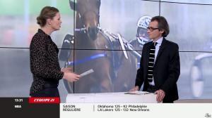 France Pierron dans Menu Sport - 05/03/14 - 11