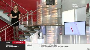 France Pierron dans Menu Sport - 06/03/14 - 02