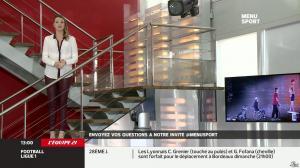 France Pierron dans Menu Sport - 07/03/14 - 05