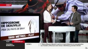 France Pierron dans Menu Sport - 07/03/14 - 08