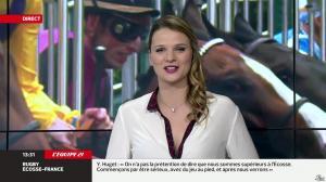 France Pierron dans Menu Sport - 07/03/14 - 09