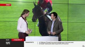 France Pierron dans Menu Sport - 07/03/14 - 10