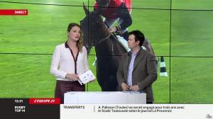 France Pierron dans Menu Sport - 07/03/14 - 11