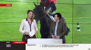 France Pierron dans Menu Sport - 07/03/14 - 12