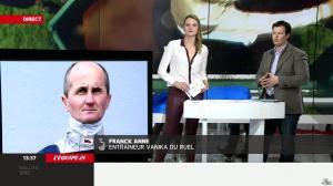 France Pierron dans Menu Sport - 07/03/14 - 16