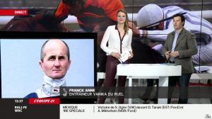 France Pierron dans Menu Sport - 07/03/14 - 17