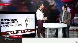 France Pierron dans Menu Sport - 07/03/14 - 18