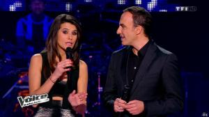 Karine Ferri dans The Voice - 01/03/14 - 02