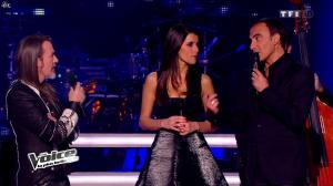 Karine Ferri dans The Voice - 22/02/14 - 04