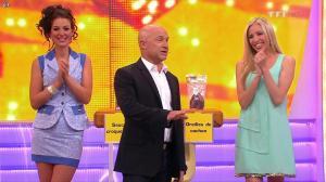 Les Gafettes, Fanny Veyrac et Nadia Aydanne dans le Juste Prix - 03/09/13 - 08