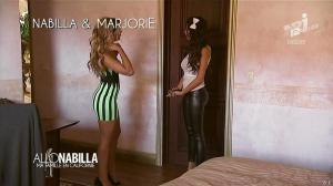 Nabilla Benattia et Marjorie dans Allo Nabilla - 26/11/13 - 10