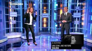 Sandrine Quétier dans 50 Minutes Inside - 01/03/14 - 01