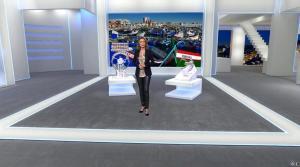 Sandrine Quétier dans Euro Millions - 11/02/14 - 02