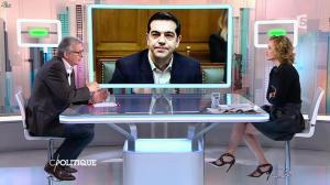Caroline Roux dans C Politique - 01/02/15 - 06
