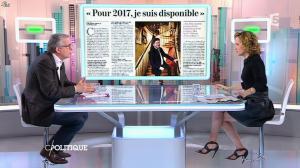 Caroline Roux dans C Politique - 01/02/15 - 10