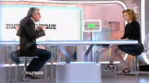 Caroline Roux dans C Politique - 01/02/15 - 13