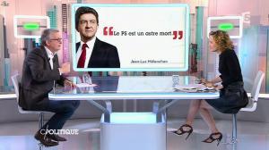 Caroline Roux dans C Politique - 01/02/15 - 14
