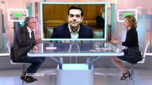 Caroline Roux dans C Politique - 01/02/15 - 19