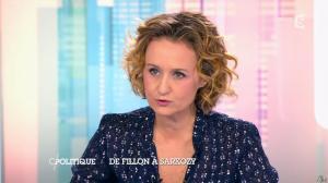 Caroline Roux dans C Politique - 14/12/14 - 30