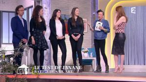 Elodie Frégé dans Comment Ça Va Bien - 27/02/15 - 11