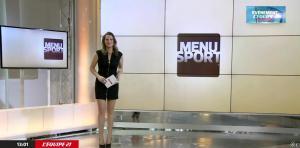 France Pierron dans Menu Sport - 03/02/15 - 01