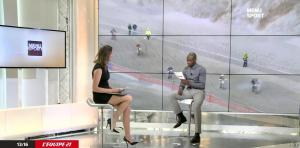 France Pierron dans Menu Sport - 03/02/15 - 11