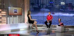 France Pierron dans Menu Sport - 05/01/15 - 03