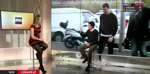 France Pierron dans Menu Sport - 06/01/15 - 06