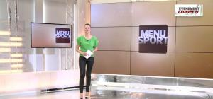 France Pierron dans Menu Sport - 06/02/15 - 01