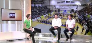 France Pierron dans Menu Sport - 06/02/15 - 08