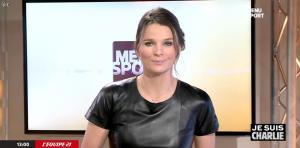 France Pierron dans Menu Sport - 08/01/15 - 04