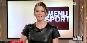 France Pierron dans Menu Sport - 08/01/15 - 05