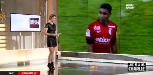 France Pierron dans Menu Sport - 08/01/15 - 06