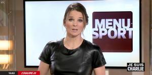 France Pierron dans Menu Sport - 08/01/15 - 07