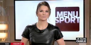 France Pierron dans Menu Sport - 08/01/15 - 08