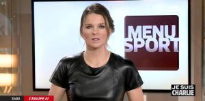 France Pierron dans Menu Sport - 08/01/15 - 09