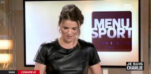 France Pierron dans Menu Sport - 08/01/15 - 10