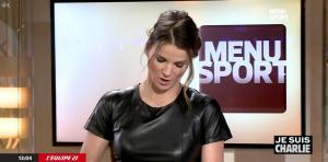 France Pierron dans Menu Sport - 08/01/15 - 11