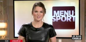 France Pierron dans Menu Sport - 08/01/15 - 17