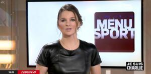 France Pierron dans Menu Sport - 08/01/15 - 18
