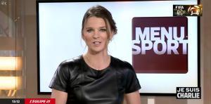 France Pierron dans Menu Sport - 08/01/15 - 21