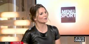 France Pierron dans Menu Sport - 08/01/15 - 22