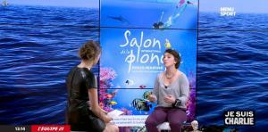 France Pierron dans Menu Sport - 08/01/15 - 23