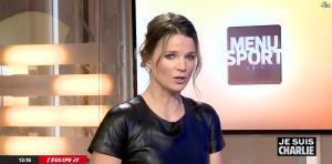 France Pierron dans Menu Sport - 08/01/15 - 25