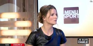 France Pierron dans Menu Sport - 08/01/15 - 26